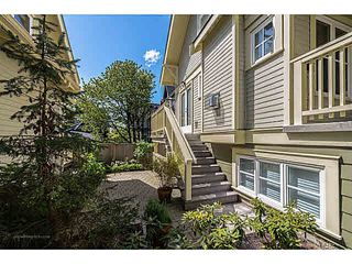 Photo 3: 2315 BALSAM Street in Vancouver: Kitsilano Townhouse for sale (Vancouver West)  : MLS®# V1074012