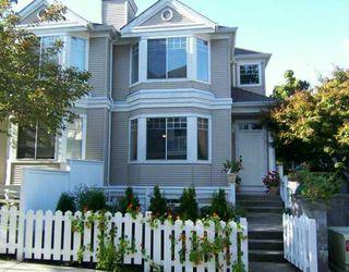 "Photo 1: 7501 CUMBERLAND Street in Burnaby: East Burnaby Townhouse for sale in ""DEERFIELD"" (Burnaby East)  : MLS®# V616269"