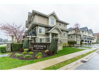 "Photo 1: 87 19525 73 Avenue in Surrey: Clayton Townhouse for sale in ""Uptown"" (Cloverdale)  : MLS®# R2448579"