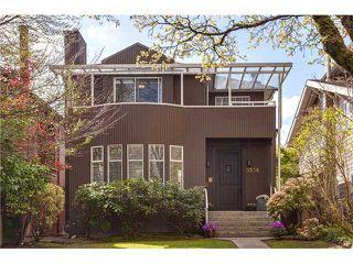Photo 1: 3536 W 11TH AV in Vancouver: Kitsilano House for sale (Vancouver West)  : MLS®# V1117174