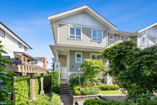 """Photo 2: 21 1130 EWEN Avenue in New Westminster: Queensborough Townhouse for sale in """"Gladstone Park"""" : MLS®# R2479341"""