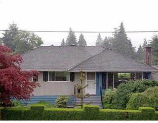 Photo 1: 1394 CHARLAND AV in Coquitlam: Central Coquitlam House for sale : MLS®# V544138