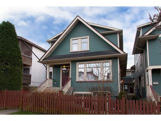 """Photo 1: 1528 GRAVELEY Street in Vancouver: Grandview VE Townhouse for sale in """"GRAVELEY HEIGHTS"""" (Vancouver East)  : MLS®# V991514"""