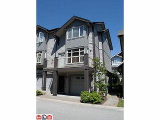 "Photo 1: 21 19219 67 Avenue in Surrey: Clayton Townhouse for sale in ""Balmoral"" (Cloverdale)  : MLS®# F1318310"