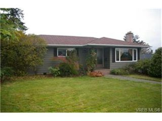Photo 1:  in VICTORIA: SW Strawberry Vale House for sale (Saanich West)  : MLS®# 448435