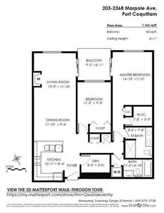Photo 20: 203 2368 MARPOLE AVENUE in Port Coquitlam: Central Pt Coquitlam Condo for sale : MLS®# R2283504
