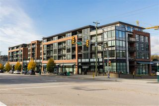 "Photo 1: 309 95 MOODY Street in Port Moody: Port Moody Centre Condo for sale in ""The Station"" : MLS®# R2415981"