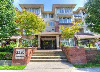 "Photo 2: 103 2330 SHAUGHNESSY Street in Port Coquitlam: Central Pt Coquitlam Condo for sale in ""AVANTI"" : MLS®# R2470843"