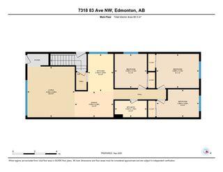 Photo 39: 7318 83 Avenue in Edmonton: Zone 18 House Half Duplex for sale : MLS®# E4214463