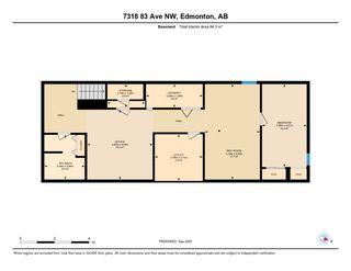 Photo 40: 7318 83 Avenue in Edmonton: Zone 18 House Half Duplex for sale : MLS®# E4214463