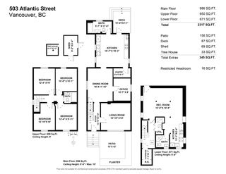 Photo 40: 503 ATLANTIC Street in Vancouver: Strathcona House for sale (Vancouver East)  : MLS®# R2505683