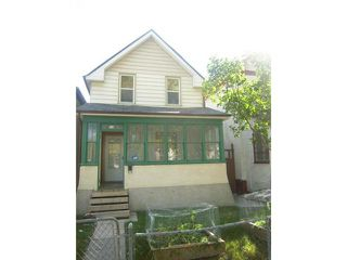 Photo 1: 519 Toronto Street in WINNIPEG: West End / Wolseley Residential for sale (West Winnipeg)  : MLS®# 1219749