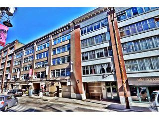 Photo 1: 201 1178 HAMILTON Street in Vancouver: Yaletown Condo for sale (Vancouver West)  : MLS®# V988978