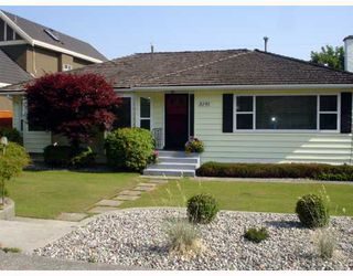 Photo 2: 5191 CALDERWOOD CR in Richmond: Lackner House for sale : MLS®# V771728