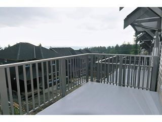 "Photo 18: 108 1480 SOUTHVIEW Street in Coquitlam: Burke Mountain Townhouse for sale in ""CEDAR CREEK"" : MLS®# V1021704"