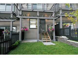 "Photo 2: 108 1480 SOUTHVIEW Street in Coquitlam: Burke Mountain Townhouse for sale in ""CEDAR CREEK"" : MLS®# V1021704"