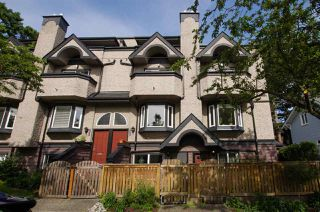 Main Photo: 2312 VINE STREET in Vancouver: Kitsilano Townhouse for sale (Vancouver West)  : MLS®# R2377630