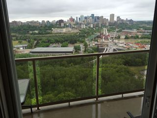 Photo 1: 1402, 10649 Saskatchewan Drive in Edmonton: Condominium for rent