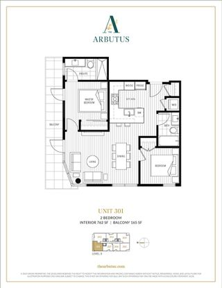 """Photo 3: 301 2888 ARBUTUS Street in Vancouver: Kitsilano Condo for sale in """"THE ARBUTUS"""" (Vancouver West)  : MLS®# R2426941"""