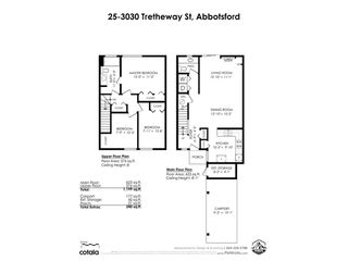 """Photo 26: 25 3030 TRETHEWEY Street in Abbotsford: Abbotsford West Townhouse for sale in """"Clearbrook Village"""" : MLS®# R2519783"""