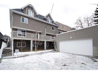 Photo 20: 2 2018 27 Avenue SW in CALGARY: South Calgary Townhouse for sale (Calgary)  : MLS®# C3513084