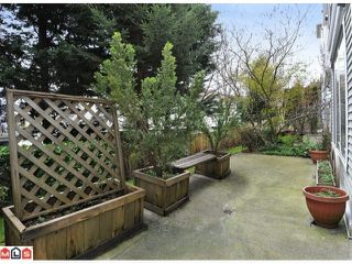 """Photo 10: 105 10186 155TH Street in Surrey: Guildford Condo for sale in """"SOMMERSET"""" (North Surrey)  : MLS®# F1210204"""