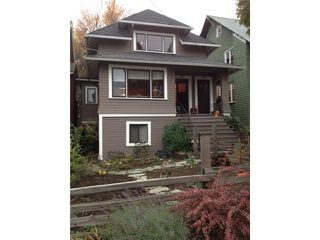 Photo 1: 2629 W 3RD Avenue in Vancouver: Kitsilano House for sale (Vancouver West)  : MLS®# V978905