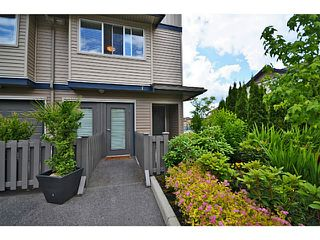 "Photo 18: 1 1268 RIVERSIDE Drive in Port Coquitlam: Riverwood Townhouse for sale in ""SOMERSTON LANE"" : MLS®# V1021881"