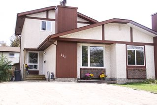 Photo 1: 337 Edelweiss Crescent in Winnipeg: Single Family Attached for sale : MLS®# 1527759