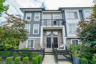 "Photo 1: 75 7686 209 Street in Langley: Willoughby Heights Townhouse for sale in ""KEATON"" : MLS®# R2408051"