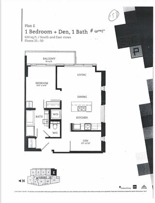 "Photo 2: 4505 13495 CENTRAL Avenue in Surrey: Whalley Condo for sale in ""3 CIVIC PLAZA"" (North Surrey)  : MLS®# R2522227"