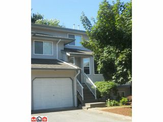 "Photo 1: 19 34332 MACLURE Road in Abbotsford: Central Abbotsford Townhouse for sale in ""IMMEL RIDGE"" : MLS®# F1220836"