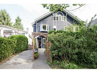 Photo 1: 2347 W 7TH AV in Vancouver: Kitsilano Townhouse for sale (Vancouver West)  : MLS®# V1140707