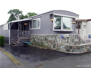 Main Photo: 28 1393 Craigflower Road in VICTORIA: VR Glentana Manu Single-Wide for sale (View Royal)  : MLS®# 328634