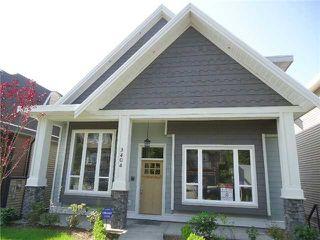 Photo 1: 3426 GISLASON AV in Coquitlam: Burke Mountain House for sale : MLS®# V997090