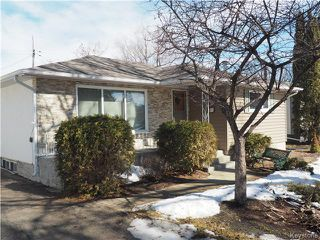 Photo 1: 66 Wordsworth Way in Winnipeg: Westwood / Crestview Single Family Detached for sale (West Winnipeg)  : MLS®# 1606248