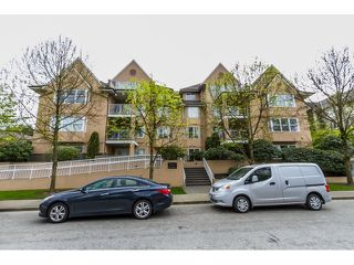 Photo 1: 107 1558 GRANT AVENUE in Port Coquitlam: Glenwood PQ Condo for sale : MLS®# R2051861