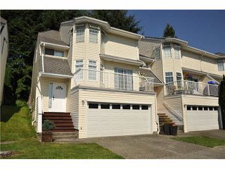 """Photo 1: 303 1180 FALCON Drive in Coquitlam: Eagle Ridge CQ Townhouse for sale in """"FALCON HEIGHTS"""" : MLS®# V1075683"""