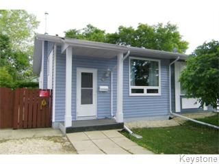Main Photo: 39 Gowler Road in Winnipeg: Westwood / Crestview Single Family Attached for sale (West Winnipeg)  : MLS®# 1119211