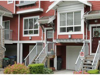"Photo 1: 70 15168 36TH Avenue in Surrey: Morgan Creek Townhouse for sale in ""Solay"" (South Surrey White Rock)  : MLS®# F1313507"
