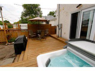 Photo 16: 617 Atlantic Avenue in WINNIPEG: North End Residential for sale (North West Winnipeg)  : MLS®# 1417464