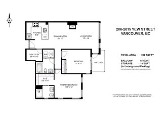 Photo 12: 206 2815 YEW STREET in Vancouver: Kitsilano Condo for sale (Vancouver West)  : MLS®# R2064254