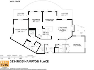 Photo 20: 313 5835 HAMPTON PLACE in Vancouver: University VW Condo for sale (Vancouver West)  : MLS®# R2080313