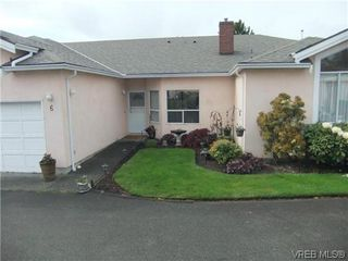 Photo 1: 6 4291 Quadra Street in VICTORIA: SE Broadmead Townhouse for sale (Saanich East)  : MLS®# 320689
