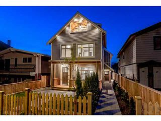 Photo 1: 769 E 14TH Avenue in Vancouver: Mount Pleasant VE 1/2 Duplex for sale (Vancouver East)  : MLS®# V1079830