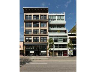 Photo 19: # 607 53 W HASTINGS ST in Vancouver: Downtown VW Condo for sale (Vancouver West)  : MLS®# V1082827
