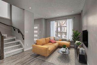 Photo 2: 10824 63 Avenue in Edmonton: Zone 15 House Half Duplex for sale : MLS®# E4194980