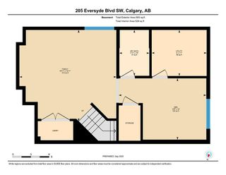 Photo 22: 205 EVERSYDE Boulevard SW in Calgary: Evergreen Semi Detached for sale : MLS®# A1034000