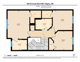 Photo 14: 205 EVERSYDE Boulevard SW in Calgary: Evergreen Semi Detached for sale : MLS®# A1034000
