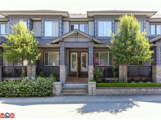 "Photo 1: 5 18701 66TH Avenue in Surrey: Clayton Townhouse for sale in ""ENCORE"" (Cloverdale)  : MLS®# F1220079"